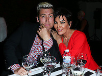 BEVERLY HILLS, CA, USA - SEPTEMBER 13: Lance Bass and Kris Jenner attend the Brent Shapiro Foundation For Alcohol And Drug Awareness' Annual 'Summer Spectacular Under The Stars' 2014 held at a Private Residence on September 13, 2014 in Beverly Hills, California, United States. (Photo by Xavier Collin/Celebrity Monitor)