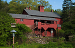 SOUTHBURY,  CT-051817JS10- The barn at the Audubon Center Bent of the River in Southbury has recently been painted. <br /> Jim Shannon Republican-American