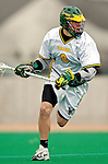 10 April 2007: University of Vermont Catamounts' Brandon Goodwyn, a Sophomore from Bethesda, MD, in action against the Holy Cross Crusaders at Moulton Winder Field, in Burlington, Vermont. The Crusaders rallied to defeat the Catamounts 5-4...Mandatory Photo Credit: Ed Wolfstein Photo