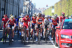 Loic Chetout (FRA) Cofidis at the start in Compiegne of the 115th edition of the Paris-Roubaix 2017 race running 257km Compiegne to Roubaix, France. 9th April 2017.<br /> Picture: ASO/P.Ballet | Cyclefile<br /> <br /> <br /> All photos usage must carry mandatory copyright credit (&copy; Cyclefile | ASO/P.Ballet)