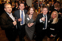 From left are Iain Humber and John Marshall, both from Nat West, Anna Ellison of RBS, Nick Pigott and Jane Pounder-Smith, both Nat West
