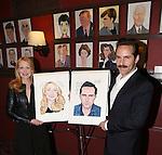 Patricia Clarkson and Alessandro Nivola Sardi's Caricatures unveiled