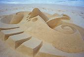 Sand sculpture, Hawaii