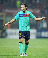 FUSSBALL   CHAMPIONS LEAGUE   SAISON 2011/2012     23.11.2011 AC Mailand - FC Barcelona Cesc Fabregas (Barca)