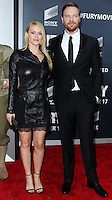 WASHINGTON, DC, USA - OCTOBER 15: Leven Rambin, Jim Parrack arrives at the Washington DC Premiere Of Sony Pictures' 'Fury' held at The Newseum on October 15, 2014 in Washington, DC, United States. (Photo by Jeffery Duran/Celebrity Monitor)