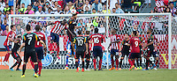 Carson, California - Sunday, Aug. 31, 2014: The LA Galaxy defeated Chivas USA 3-0 during the SuperClasico and a Major League Soccer (MLS) match at StubHub Center stadium.