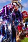 Dancer at Taos Pow Wow, Taos Pueblo, northern New Mexico
