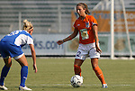 03 July 2008: Carolina's Sarah Jackyra (2). The Charlotte Lady Eagles defeated the Carolina Railhawks Women 3-0 at WakeMed Stadium in Cary, NC in a 2008 United Soccer League W-League regular season game.