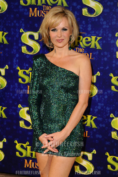 """Amanda Holden arrives for the 1st night party of """"Shrek The Musical"""" at Somerset House, London. 14/06/2011  Picture by: Steve Vas / Featureflash"""