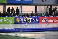 SCHAATSEN: GRONINGEN: Sportcentrum Kardinge, 17-01-2015, KPN NK Sprint, Hein Otterspeer, Jesper Hospes, ©foto Martin de Jong