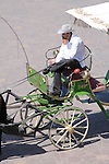 A carriage driver in Marrakesh, Morocco.