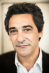 PARIS, FRANCE. OCTOBER 5, 2011. Serge Papin, Systeme U's CEO, at the Cafe Soufflot where he often starts his day and gives professionnal meetings. Photo: Antoine Doyen