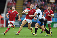 Harry Jones of Canada in possession. Rugby World Cup Pool D match between Canada and Romania on October 6, 2015 at Leicester City Stadium in Leicester, England. Photo by: Patrick Khachfe / Onside Images