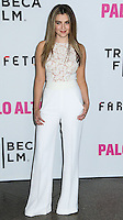 """LOS ANGELES, CA, USA - MAY 05: Zoe Levin at the Los Angeles Premiere Of Tribeca Film's """"Palo Alto"""" held at the Directors Guild of America on May 5, 2014 in Los Angeles, California, United States. (Photo by Celebrity Monitor)"""