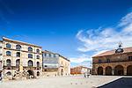 Plaza Mayor (Main Square), Soria, with the Palacio de la Audiencia building on the right