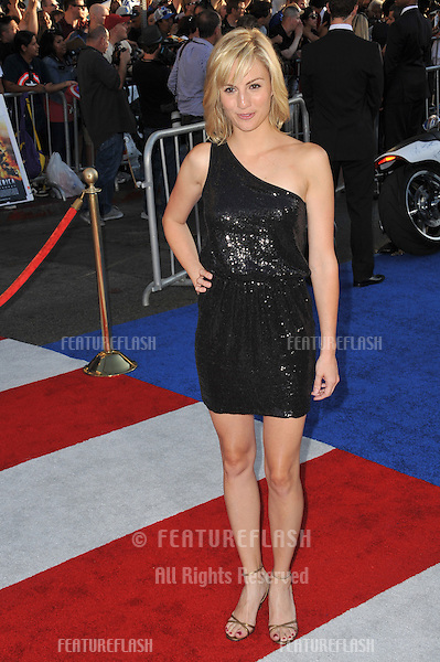 """Alison Haislip at the premiere of """"Captain America: The First Avenger"""" at the El Capitan Theatre, Hollywood..July 19, 2011  Los Angeles, CA.Picture: Paul Smith / Featureflash"""