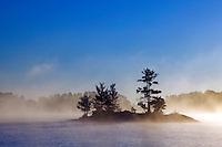 Island in Namakan Lake, Voyageurs National Park, Minnesota