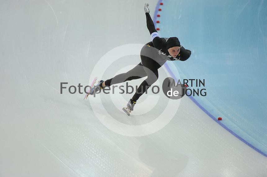 OLYMPICS: SOCHI: Adler Arena, 13-02-2014, 1000m Ladies, Heather Richardson (USA), ©foto Martin de Jong
