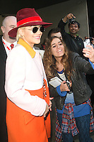 Celebrity Spotting Radio 1 London 20 October 2014