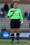 14 November 2014: South Dakota State's Elisa Stamatakis (CAN). The University of North Carolina Tar Heels hosted the South Dakota State University Jackrabbits at Fetzer Field in Chapel Hill, NC in a 2014 NCAA Division I Women's Soccer Tournament First Round match. UNC won the game 2-0.