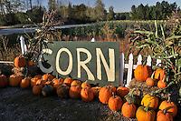 Corn sign in Fairview Oregon