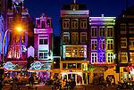 Amsterdam is colorful Damrak.
