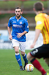 Partick Thistle v St Johnstone....25.10.14   SPFL<br /> James McFadden is closed down<br /> Picture by Graeme Hart.<br /> Copyright Perthshire Picture Agency<br /> Tel: 01738 623350  Mobile: 07990 594431