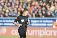 VOETBAL: CAMBUURSTADION: LEEUWARDEN: 03-11-2013, Cambuur-Feyenoord, uitslag 0- 2, Scheidsrechter Pol van Boekel, ©foto Martin de Jong