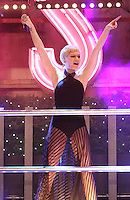 NOV 12 Jessie J performs at Oxford Street Xmas Lights Switch On
