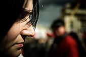 Warsaw 10.04.2011 Poland<br /> Last year, on april 10 April, 96 most important person in the state including President Lech Kaczynski and his wife, were killed in a plane crash near Smolensk in Russia. On the first anniversary of the tragedy at the Presidential Palace thousands of people gathered, not in order to express his grief and sorrow, but because it would energize their dissatisfaction with the current government, Moscow, and causes of tragedy. The main demonstration was initiated by Jaroslaw Kaczynski (the brother of killed president), leader of PiS ( right fraction ).<br /> Photo: Adam Lach / Napo Images<br /> <br /> W ubieglym roku 10 kwietnia 96 najwazniejszych osob w panstwie w tym prezydent Lech Kaczynski wraz z malzonka, zginelo w katastrofie samolotu pod Smolenskiem. W pierwsza rocznice tej tragedii pod Palacem Prezydenckim zebralo sie tysiace osob,  nie po to by wyrazic swoj zal i smutek, lecz dlatego by agitowac swoje niezadowolenie wobec obecnego rzadu, Moskwy i przyczyn tragedi. Glownym inicjatorem manifestacji byl Jaroslaw Kaczynski (brat zmarlego prezydenta), lider prawicowej partii PiS.<br /> Fot: Adam Lach / Napo Images