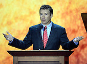 United States Senator Rand Paul (Republican of Kentucky) makes remarks at the 2012 Republican National Convention in Tampa Bay, Florida on Wednesday, August 29, 2012.  .Credit: Ron Sachs / CNP.(RESTRICTION: NO New York or New Jersey Newspapers or newspapers within a 75 mile radius of New York City)