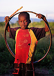 "A boy in Dickson, a village in southern Malawi that has been hard hit by drought in recent years, leading to chronic food insecurity, especially during the ""hunger season,"" when farmers are waiting for the harvest."