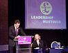 UKIP <br /> Leadership hustings <br /> at the Emanuel Centre, London, Great Britain <br /> 1st November 2016 <br /> <br /> the first leadership hustings before the election on 28th November 2016 <br /> <br /> Suzanne Evans <br /> <br /> <br /> John Rees-Evans<br /> <br /> <br /> <br /> <br /> <br /> Photograph by Elliott Franks <br /> Image licensed to Elliott Franks Photography Services