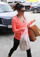 Jenna Dewan leaving her yoga class - Los Angeles