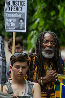 "16.07.2013 - ""Justice For Trayvon Martin"" - Demo outside the US Embassy"