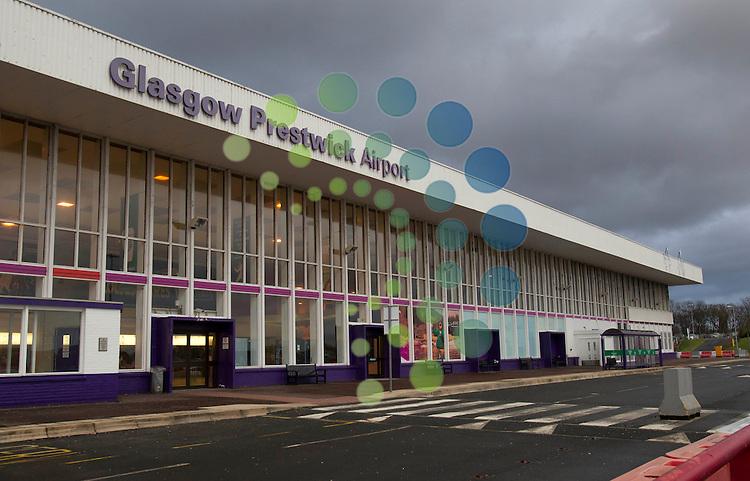 Prestwick Airport.Universal News And Sport (Scotland). 27 January 2013 www.unpixs.com.