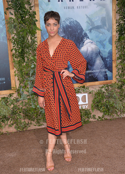 LOS ANGELES, CA. June 27, 2016: Actress Cush Jumbo at the world premiere of &quot;The Legend of Tarzan&quot; at the Dolby Theatre, Hollywood.<br /> Picture: Paul Smith / Featureflash