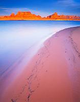 Lake Powell Beach, Glen Canyon National Recreation Area, Arizona    Padre Bay