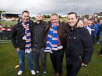 Rangers fans on tour