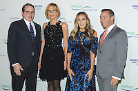 NEW YORK, NY - OCTOBER 13:  Matthew Brodercik, Madelyn Wils, Sarah Jessica Parker and Gregory Boroff attend the 2016 Friends of Hudson River Park Gala at Hudson River Park's Pier 62 on October 13, 2016 in New York City. Photo by John Palmer/MediaPunch