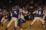 Water Valley's Elijah Rogers (9) vs. Mantachie in Mantachie, Miss. on Friday, October 28, 2011.