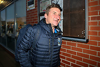 Picture by Alex Whitehead/SWpix.com - 16/03/2017 - Rugby League - Betfred Super League - Leigh Centurions v Warrington Wolves - Leigh Sports Village, Leigh, England - Warrington's head coach Tony Smith arrives at the ground.