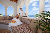 JeT'aime Cerge & Matt Grant wedding scenes at Villa Kismet on the island of St. John in the US Virgin Islands