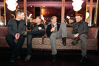 NO REPRO FEE .12/11/10 Westlife at a photocall at the Westbury Hotel, Dublin to announce a fourth date at the O2, due to phenomenal demand , tickets go on sale on Thursday 18th November and their new album Gravity is released on 19th November 2010. Picture:Arthur Carron/Collins
