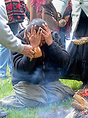 Nomination 2008 Ontario Newspaper Awards Jack Bowman Spot News .Akii Kwe, Earth Women of Bkejwanong Territory, held a an aboriginal ceremony at Seager Park to protest the construction of the proposed Shell Refinery.