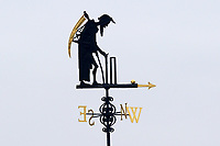 The Lord's weather vane Old Father Time during Middlesex CCC vs Essex CCC, Specsavers County Championship Division 1 Cricket at Lord's Cricket Ground on 21st April 2017