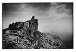 Tower houses of Kahil built atop rock outcropping for defense. Haraz Mountains, Yemen. Tribal feuds are very much a part of the present.  So the defensive nature of villages is still relevant.