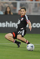 D.C. United defender Chris Korb (22) D.C. United defeated Toronto FC 3-1 at RFK Stadium, Saturday May 19, 2012.