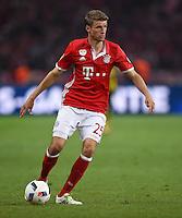 FUSSBALL  DFB POKAL FINALE  SAISON 2015/2016 in Berlin FC Bayern Muenchen - Borussia Dortmund         21.05.2016 Thomas Mueller (FC Bayern Muenchen)
