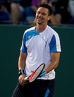 Robin SODERLING (SWE) against Philipp PETZSCHNER (GER) in the third round of the men's singles. Robin Soderling beat Philipp Petzschner 6-1 6-2..International Tennis - 2010 ATP World Tour - Sony Ericsson Open - Crandon Park Tennis Center - Key Biscayne - Miami - Florida - USA - Mon 29th Mar 2010..© Frey - Amn Images, Level 1, Barry House, 20-22 Worple Road, London, SW19 4DH, UK .Tel - +44 20 8947 0100.Fax -+44 20 8947 0117